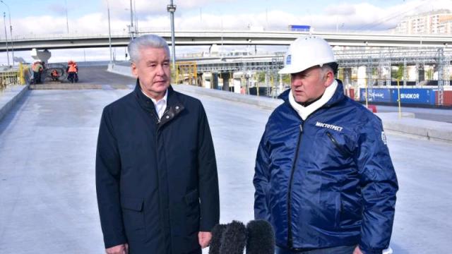 По словам мэра Москвы Сергея Собянина, очередной участок СВХ в Москве планируется завершить в 2018 году