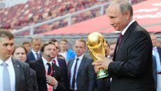 Мэр Москвы представил Владимиру Путину обновленные «Лужники». Фото: kremlin.ru