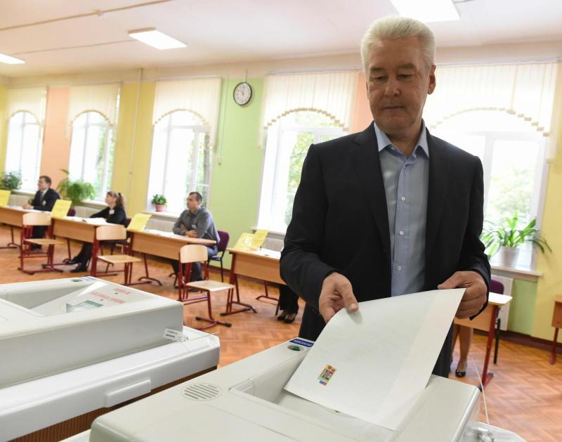 Фото: Мэр Москвы Сергей Собянин