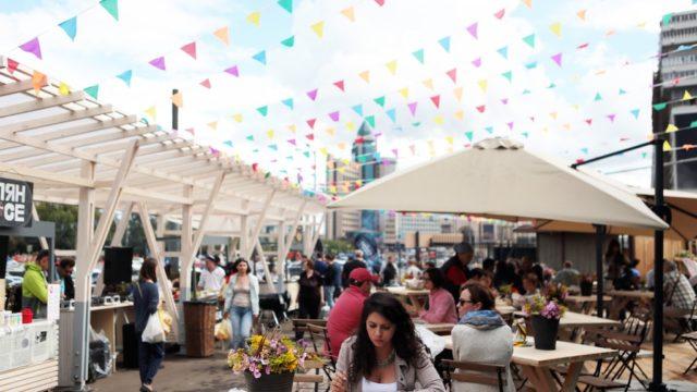 Дата: 01.08.2015, Время: 16:00 Открытие летней веранды на Даниловском рынке