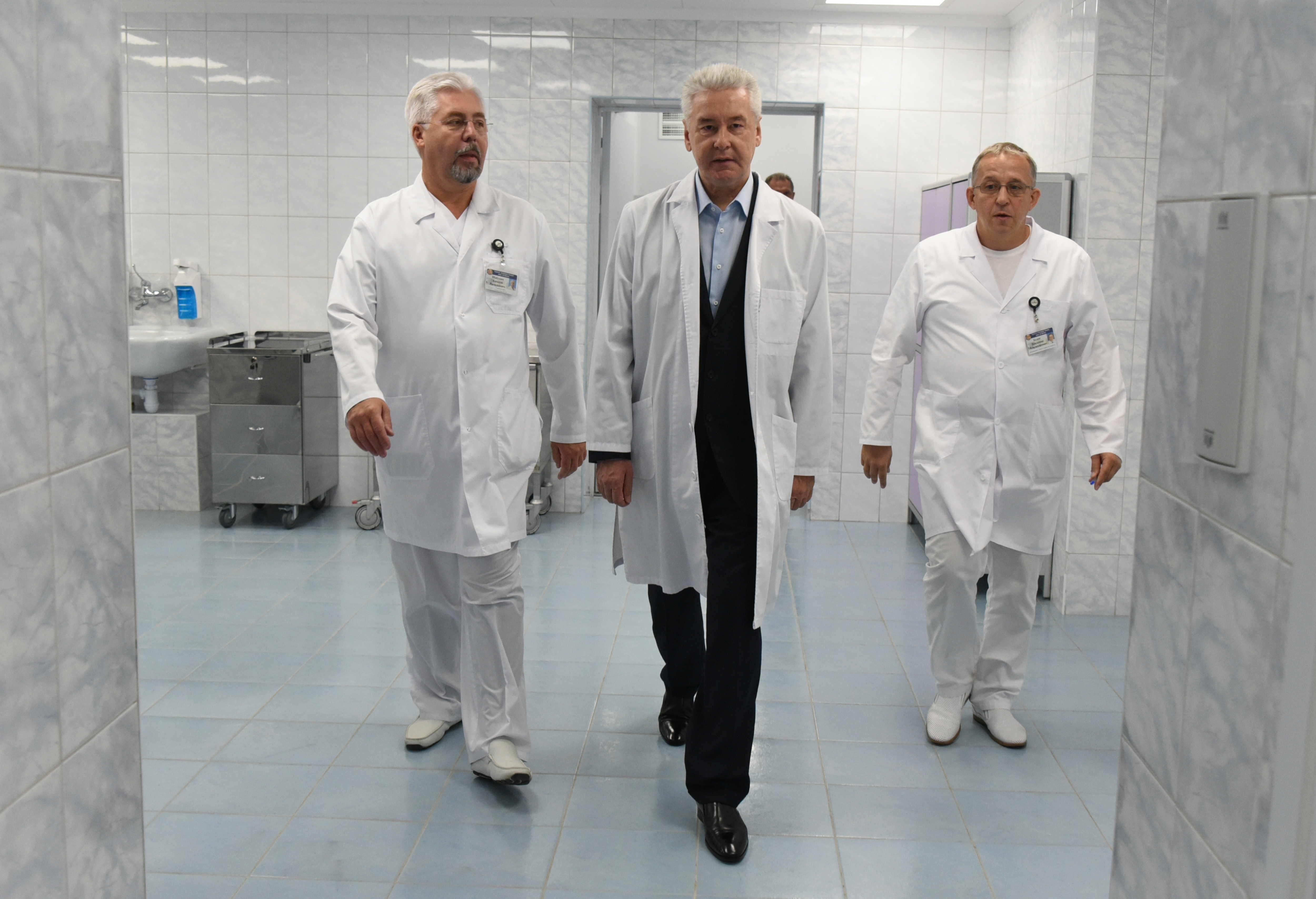 В Боткинской больнице создан уникальный корпус нейрохирургии