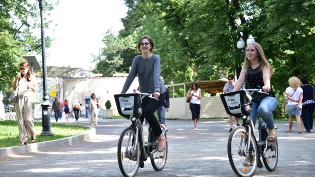 Прокат велосипедов на Кропоткинской