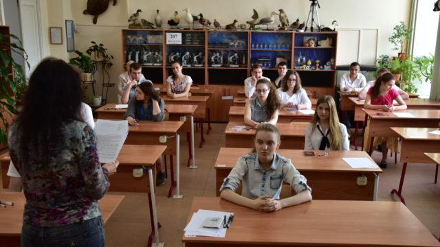 В преддверии нового учебного года ученики создают ролики о своей школе