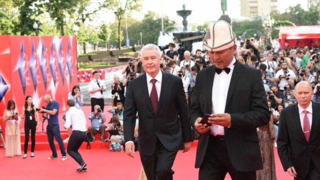 Мэр Москвы Сергей Собянин на церемонии открытия 38-го Московского международного кинофестиваля в Москве