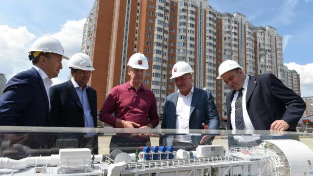 Собянин: Новая ветка снимет часть нагрузки с Таганско-Краснопресненской и Калининской линий метро