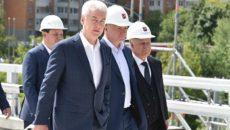 14 июня мэр Москвы Сергей Собянин осмотрел ход строительсва эстакады на пересечении Липецкой и Элеваторной улиц