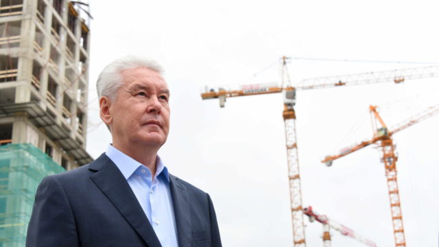 14 июля 2016 Мэр Москвы Сергей Собянин осмотрел ход работ по комплексной застройке территории ЗИЛа