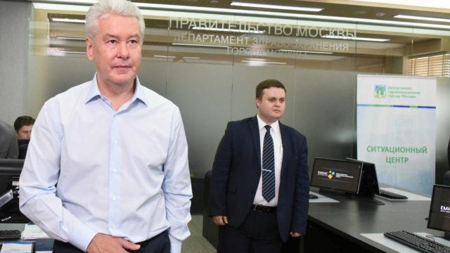 15 июля 2016 Мэр Москвы Сергей Собянин ознакомился с работой Ситуационного центра Департамента здравоохранения г.Москвы