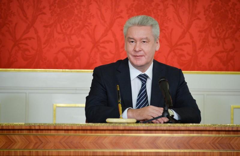 Собянин открыл новый путепровод вЩербинке