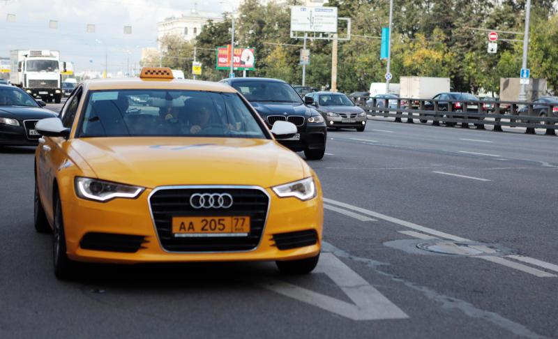 В столице России такси за3 года подешевело всреднем на30 процентов