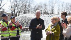 Мэр Москвы Сергей Собянин Открыл сезон фонтанов