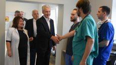 Собянин заявил о запуске масштабной программы модернизации поликлиник. Фото: мэр Москвы Сергей Собянин