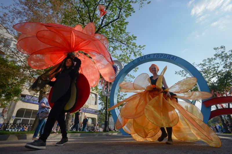День города в этом году пройдет в Москве 7 и 8 сентября. Фото: архив