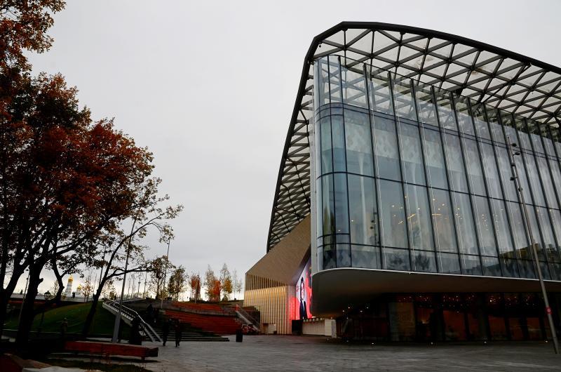 Парк «Зарядье» получил приз крупнейшей градостроительной выставки мира. Фото: Анна Быкова