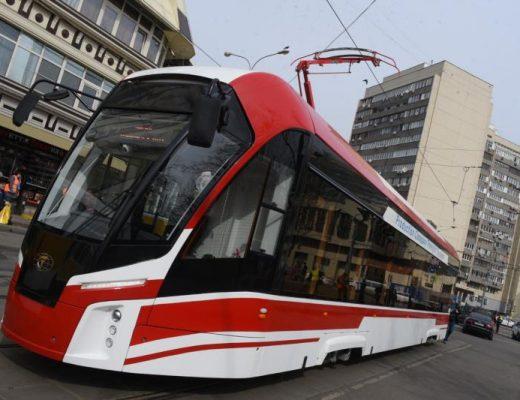 В Москве за 5 лет обновят парк трамваев. Фото: архив