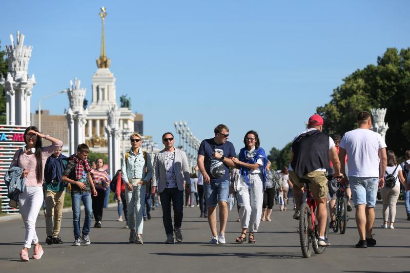 К 14.00 гостями семейного фестиваля на ВДНХ стали 90 тысяч человек. Фото: архив