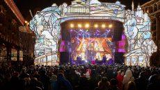 Площадки «Путешествия в Рождество» привлекли свыше 2 млн человек 1 января. Фото: сайт мэра Москвы